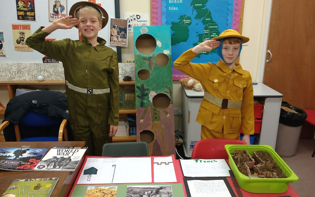 Prep School Oxfordshire – Windrush Valley School – Year 6 pupils create their own museum